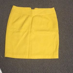 Clearance! ☀️Merona yellow pencil skirt